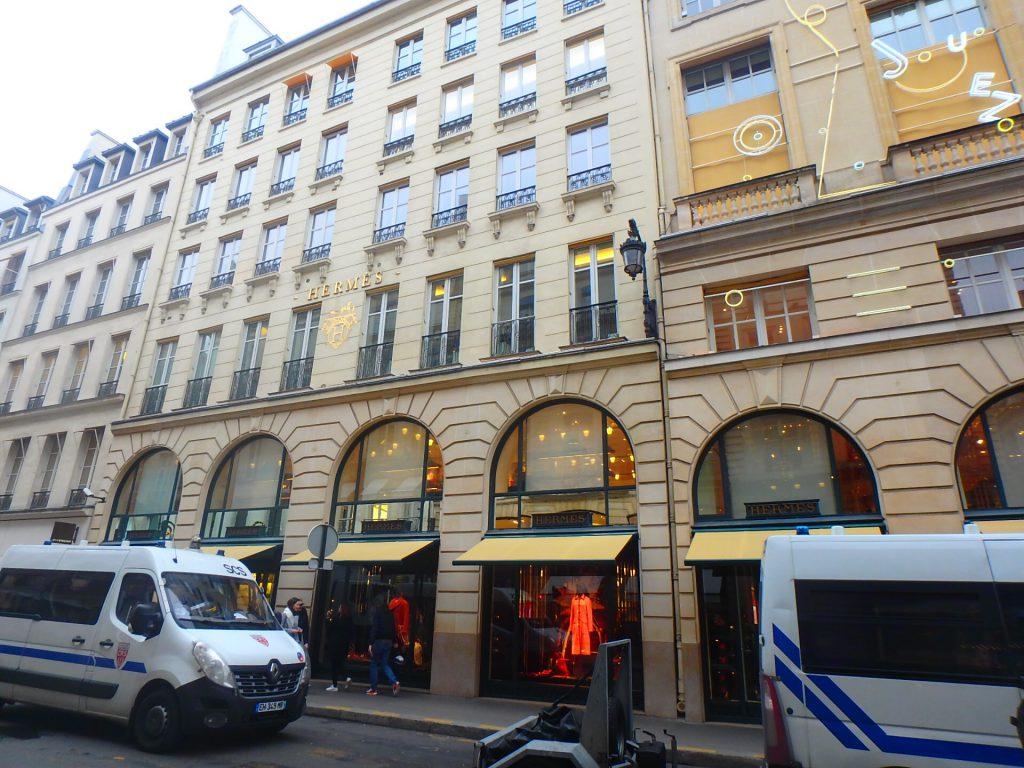 エルメスのパリ本店