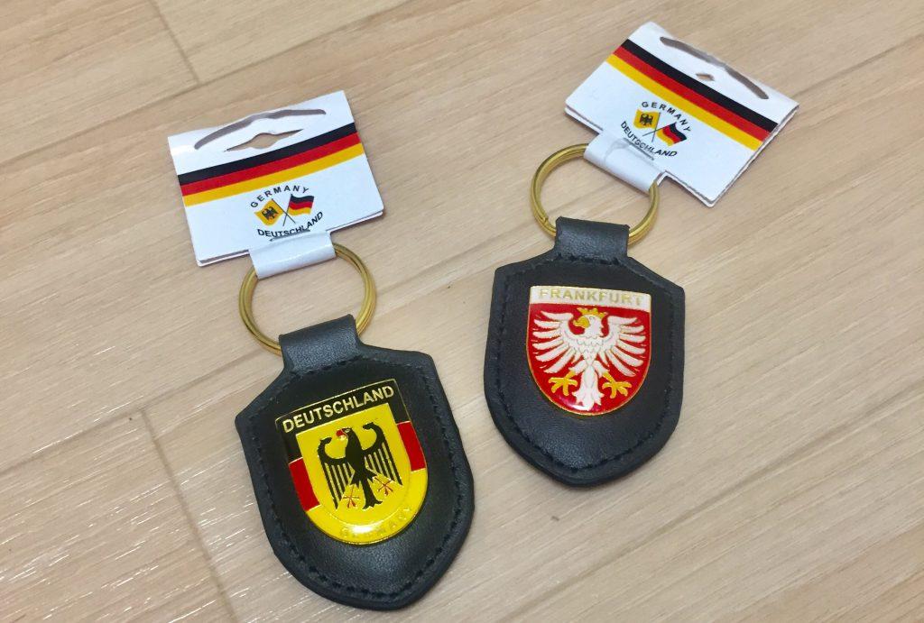 ドイツ 空港 お土産 キーホルダー フランクフルト