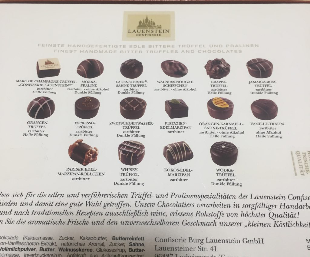 ドイツ お土産 チョコ 美味しい