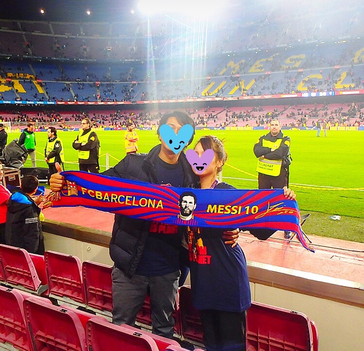 カンプノウ FCバルセロナ 試合観戦 ブログ
