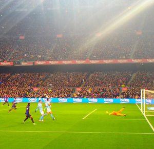 カンプノウ FCバルセロナ 試合観戦