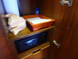 モルディブのホテル セキュリティボックス