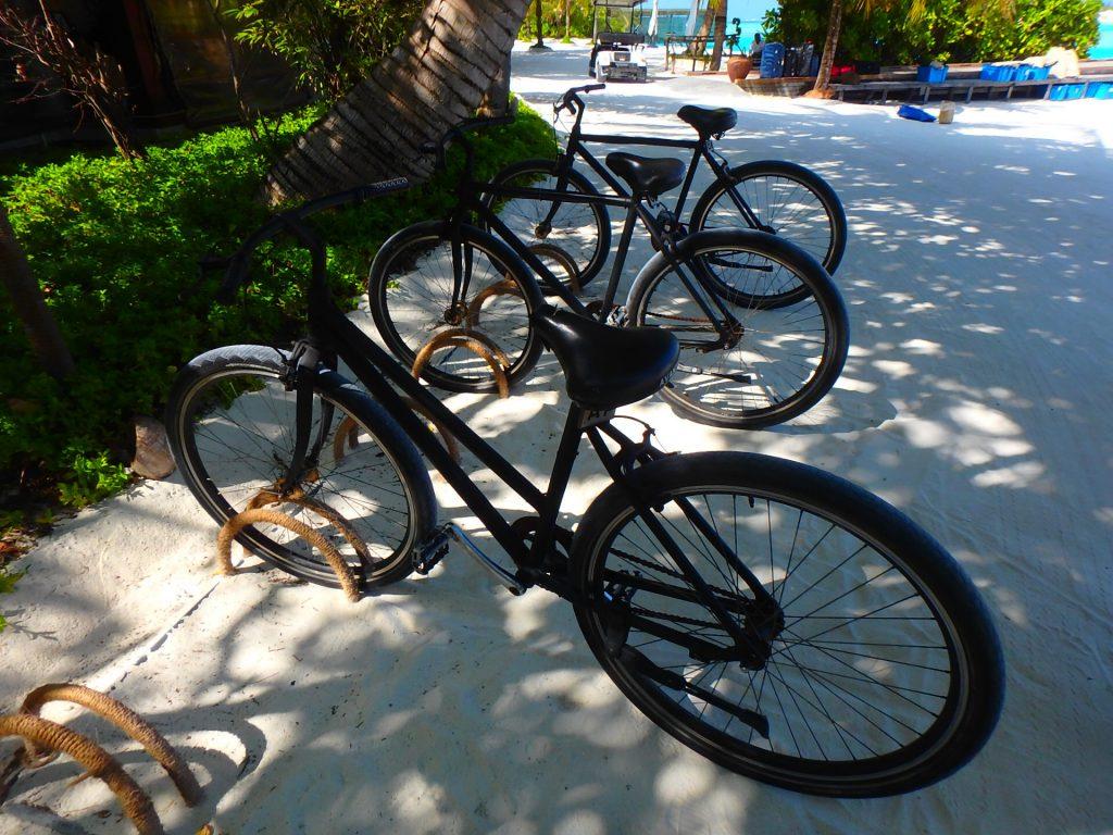 モルディブ 自転車