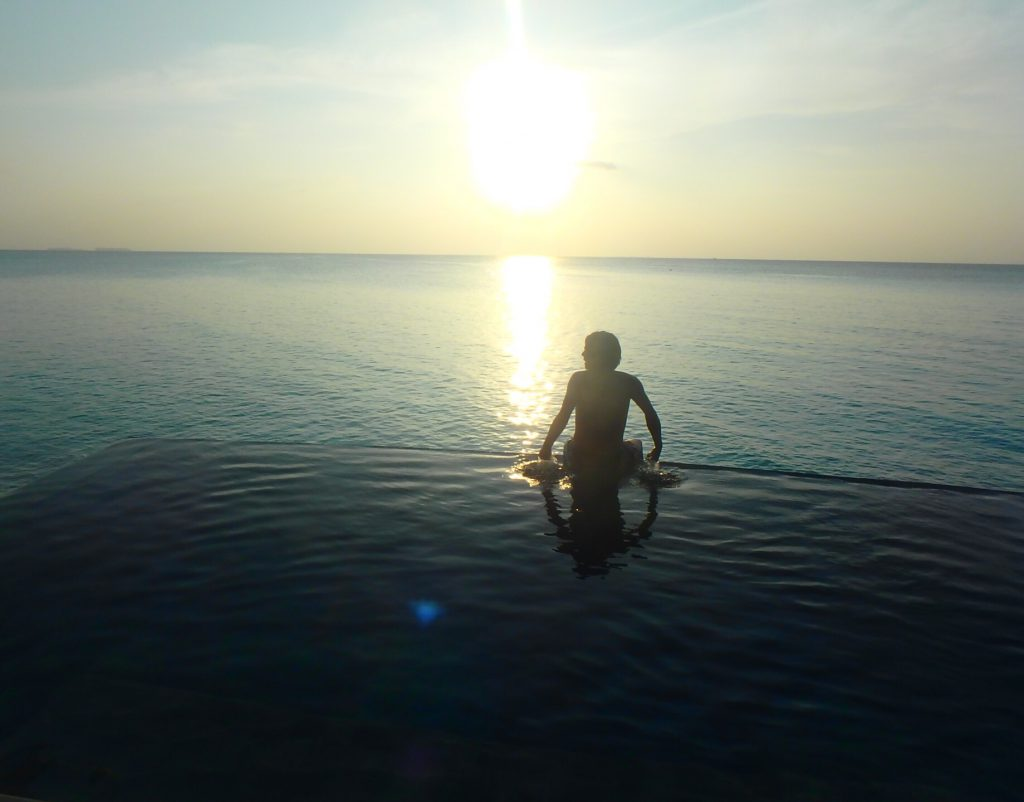 モルディブ サンセット ブログ