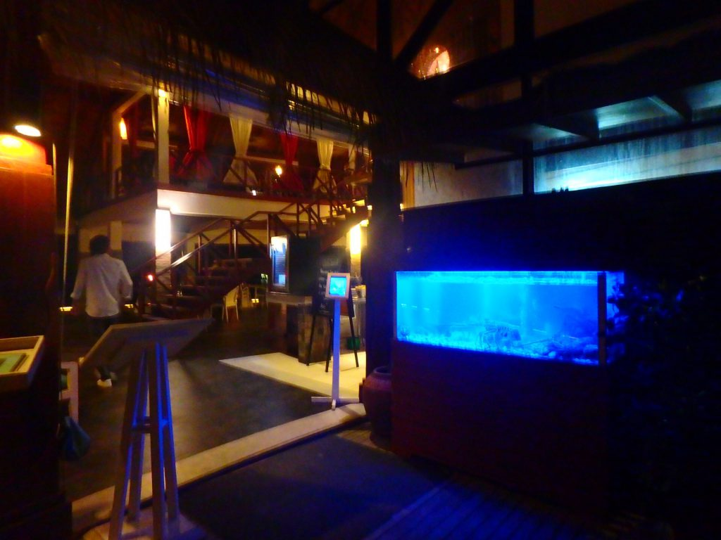 モルディブ シーフード レストラン