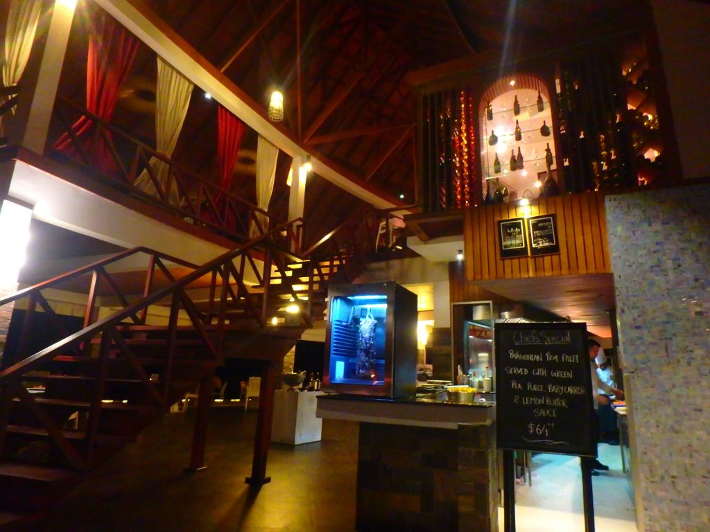 モルディブ アナンタラディグ レストラン