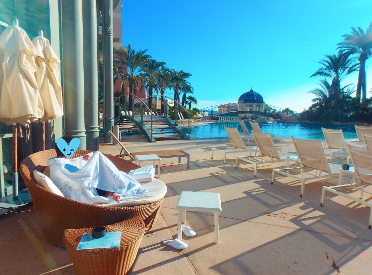 モナコ ホテル プール ブログ