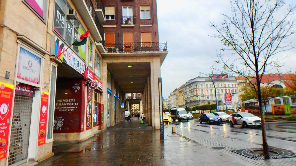 ブダペスト 朝