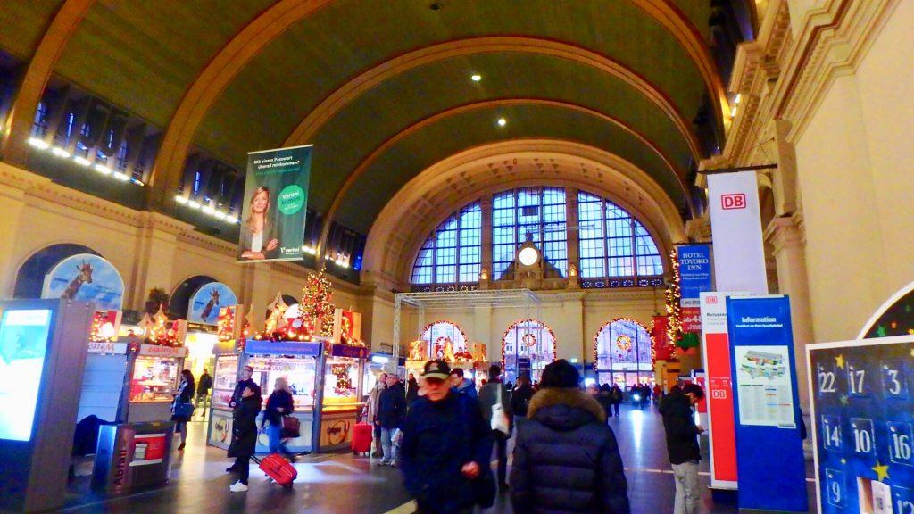 フランクフルト中央駅 クリスマス