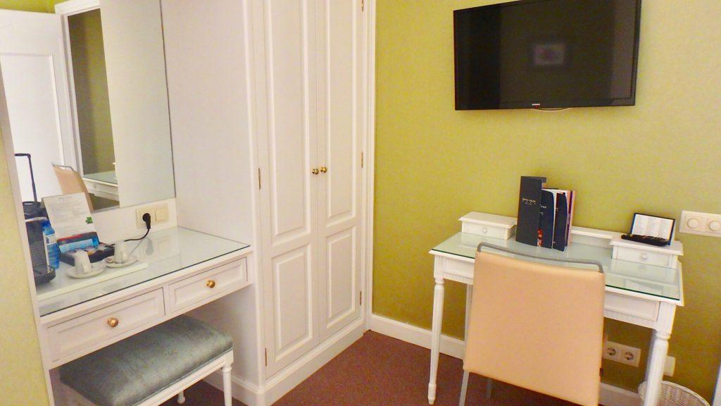 ホテル コロン バルセロナ お部屋の内装