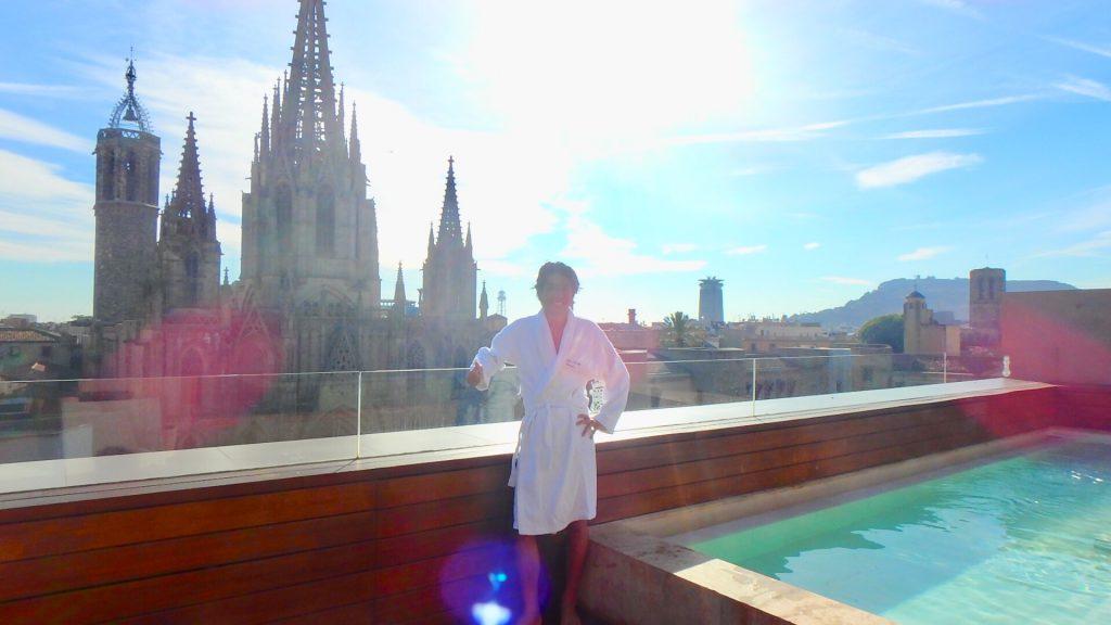 バルセロナ ホテル プール