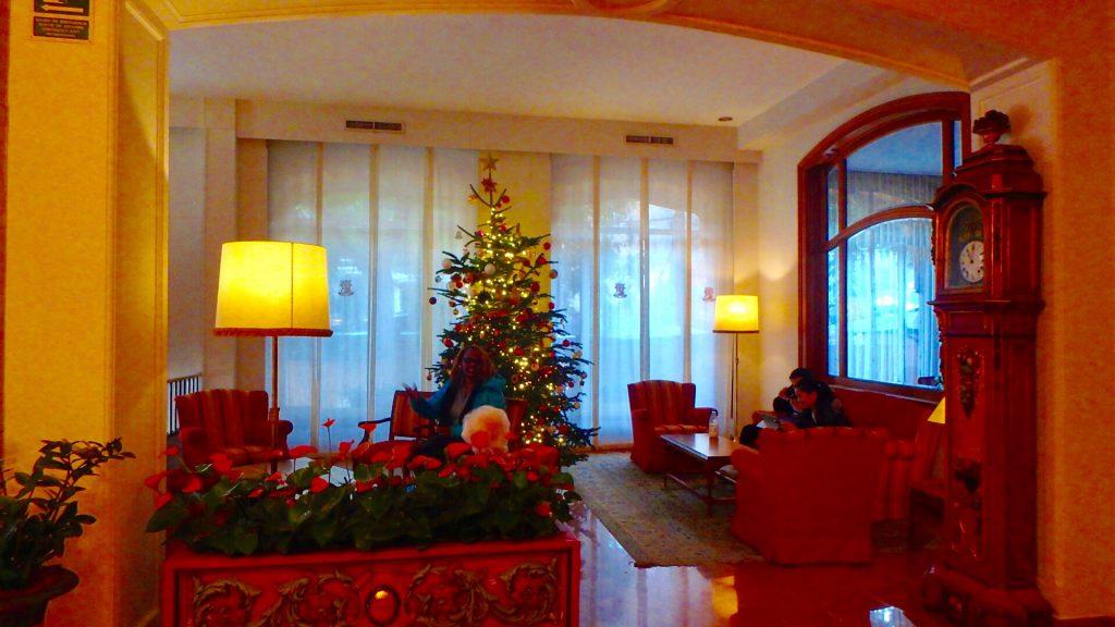 ホテルコロン バルセロナ ロビー