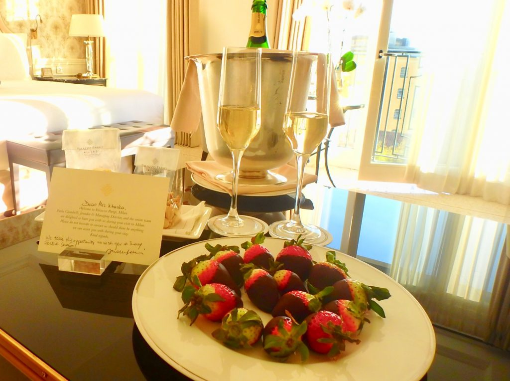 ミラノ 高級ホテル ハネムーン