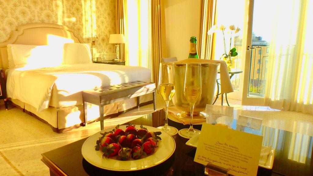 イタリア 高級ホテル ハネムーン