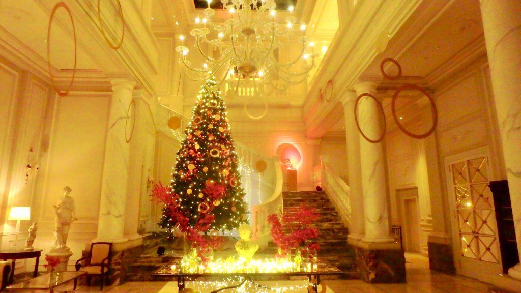 ミラノ 高級ホテル クリスマス