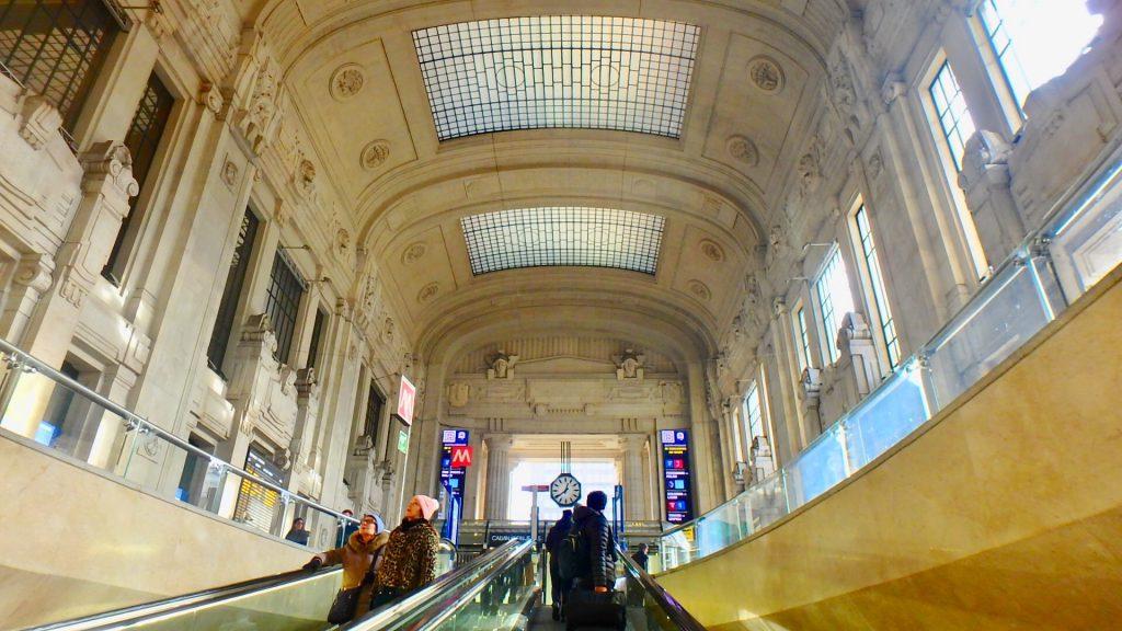 ミラノ中央駅 旅行記
