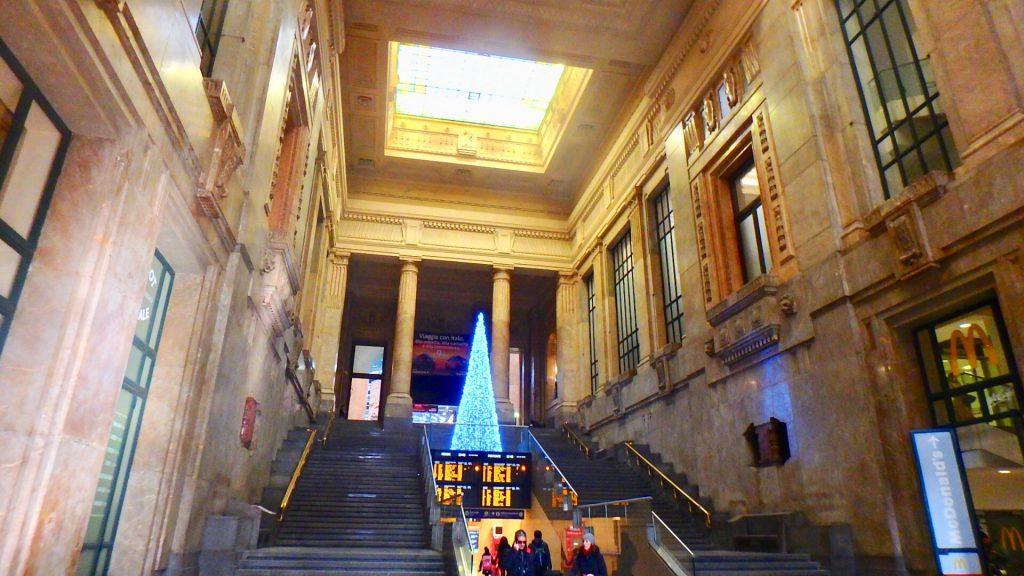ミラノ中央駅 クリスマス
