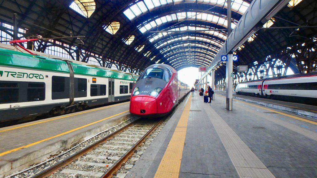 イタリアの電車 ブログ