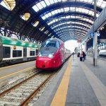 ミラノからローマへ電車移動。イタリアの特急電車イタロ(Italo)で鉄道旅