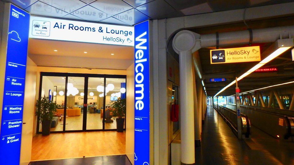 Air Rooms Rome Airport by HelloSky ブログ