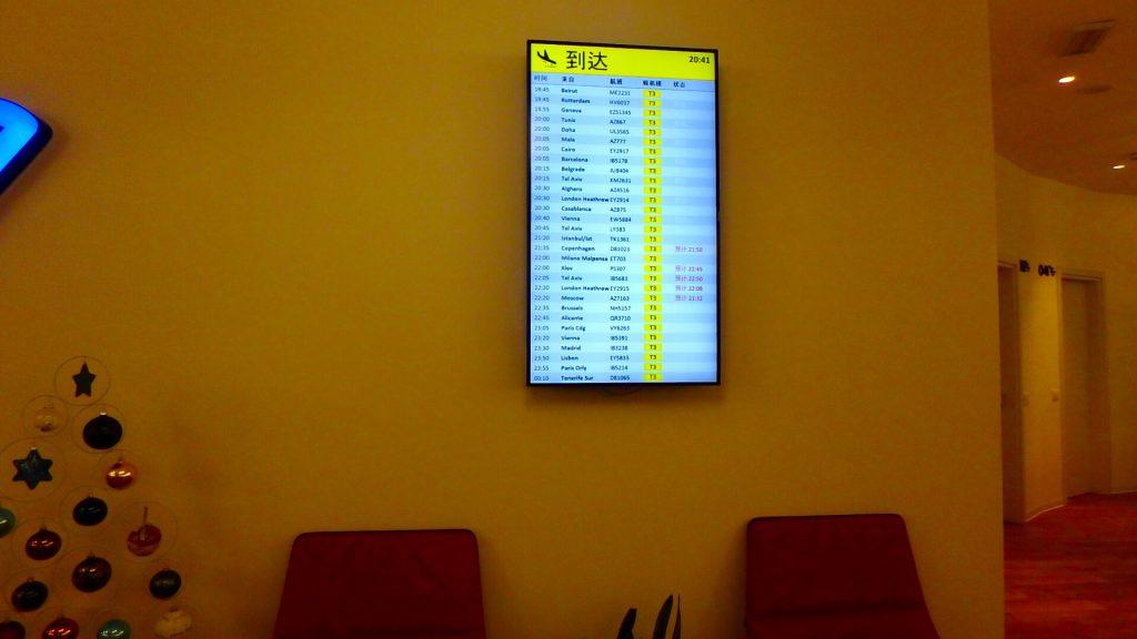 ローマ フィウミチーノ空港 フライト情報