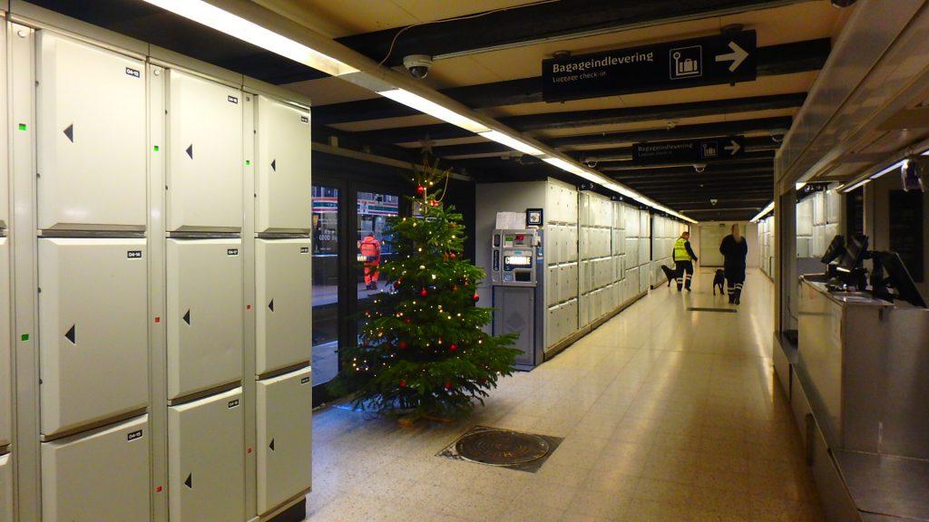 コペンハーゲン中央駅 クリスマス