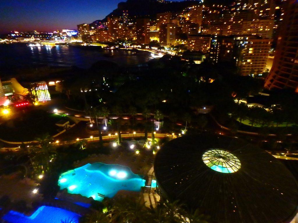 モナコ 夜景 綺麗