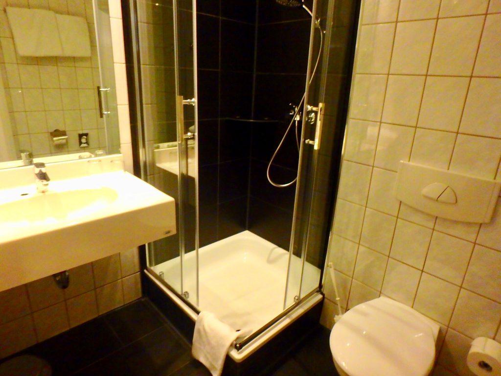 フランクフルト中央駅 ホテル バスルーム