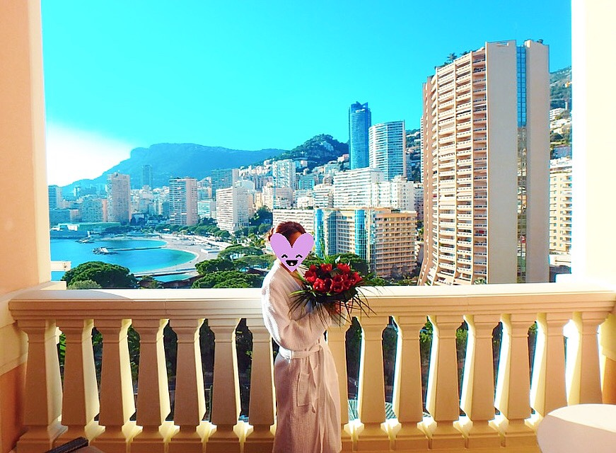 モナコ 高級ホテル スイートルーム ブログ