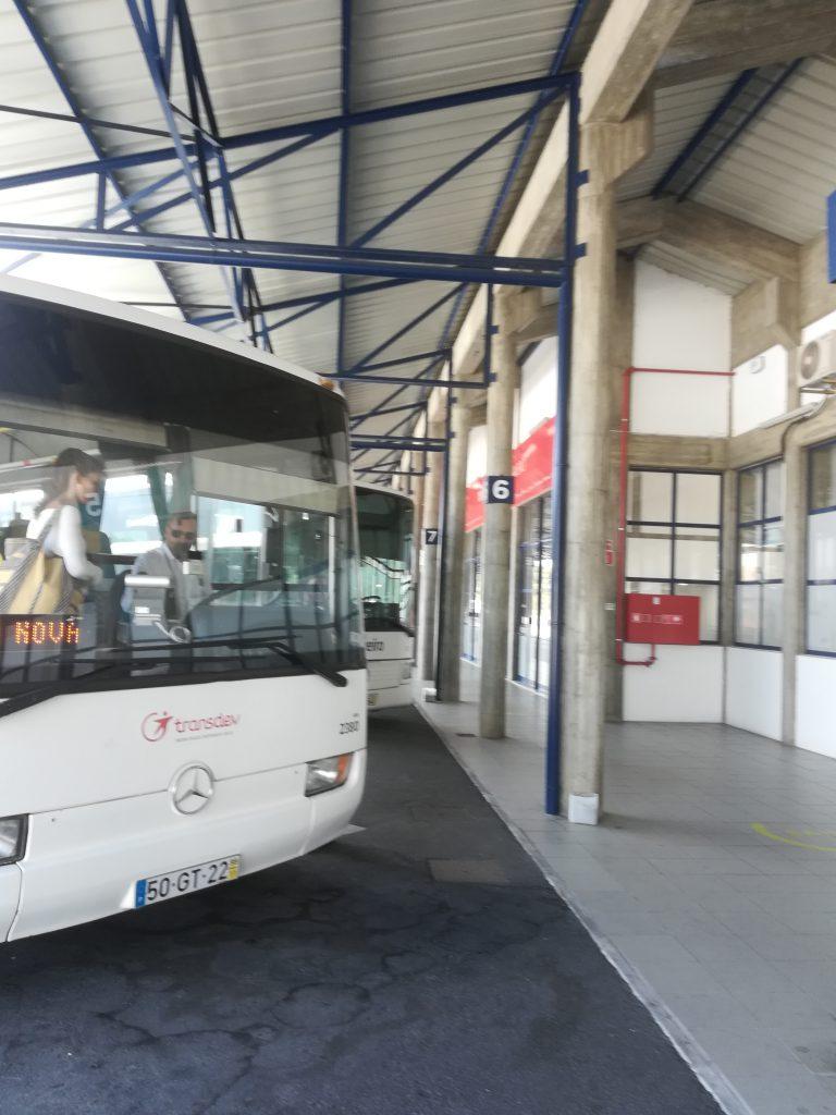 ポルトガル Aveiro(アヴェイロ)駅 バス