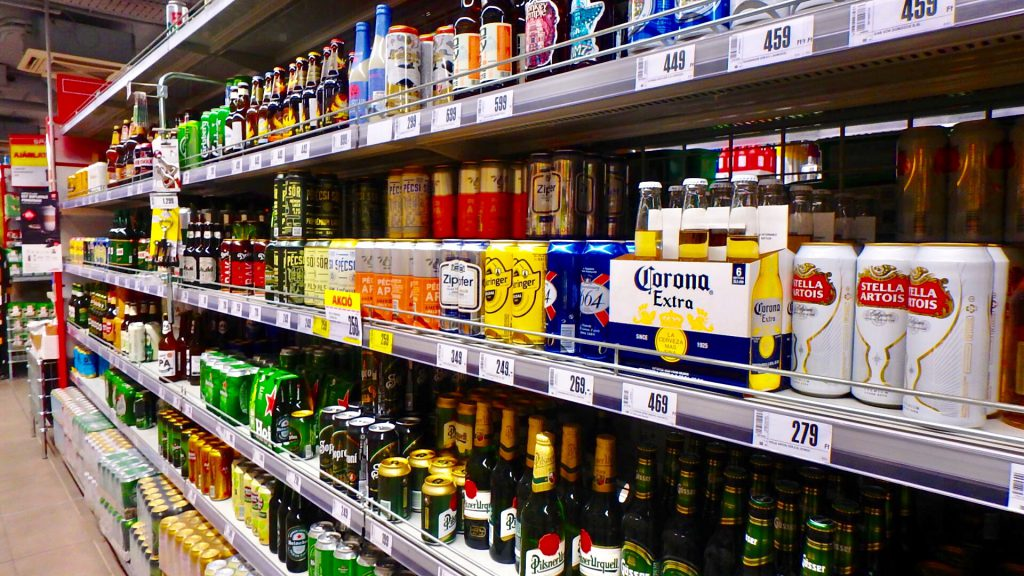 ブダペスト お土産 ビール ワイン