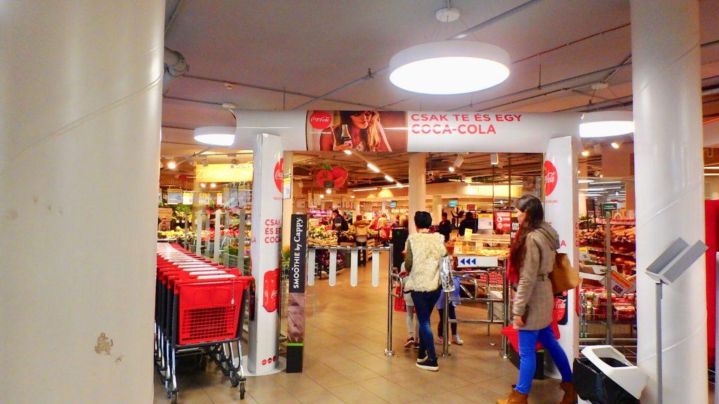 ブダペスト スーパーマーケット