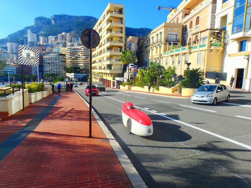 モナコ F1 F1で有名なボー・リバージュ(オスタンド通り)