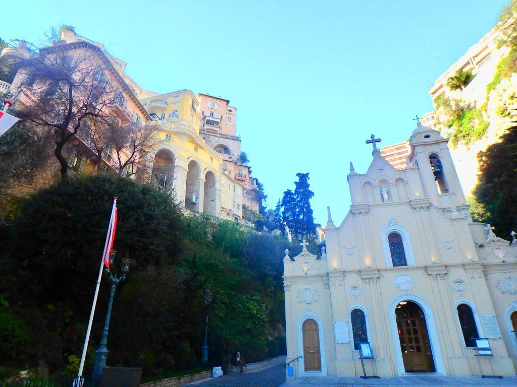モナコ 教会 観光