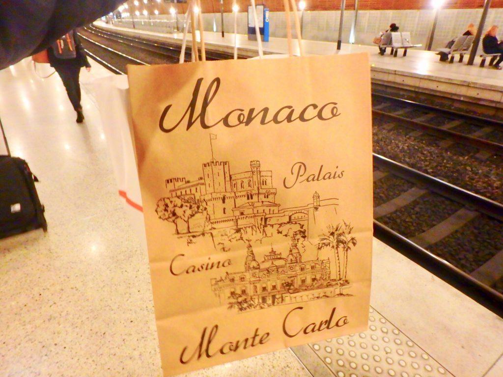 モナコ お土産 駅