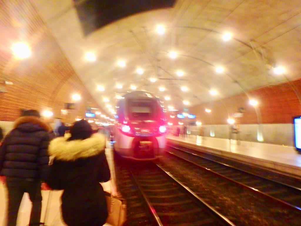 モナコからニース 電車 ブログ