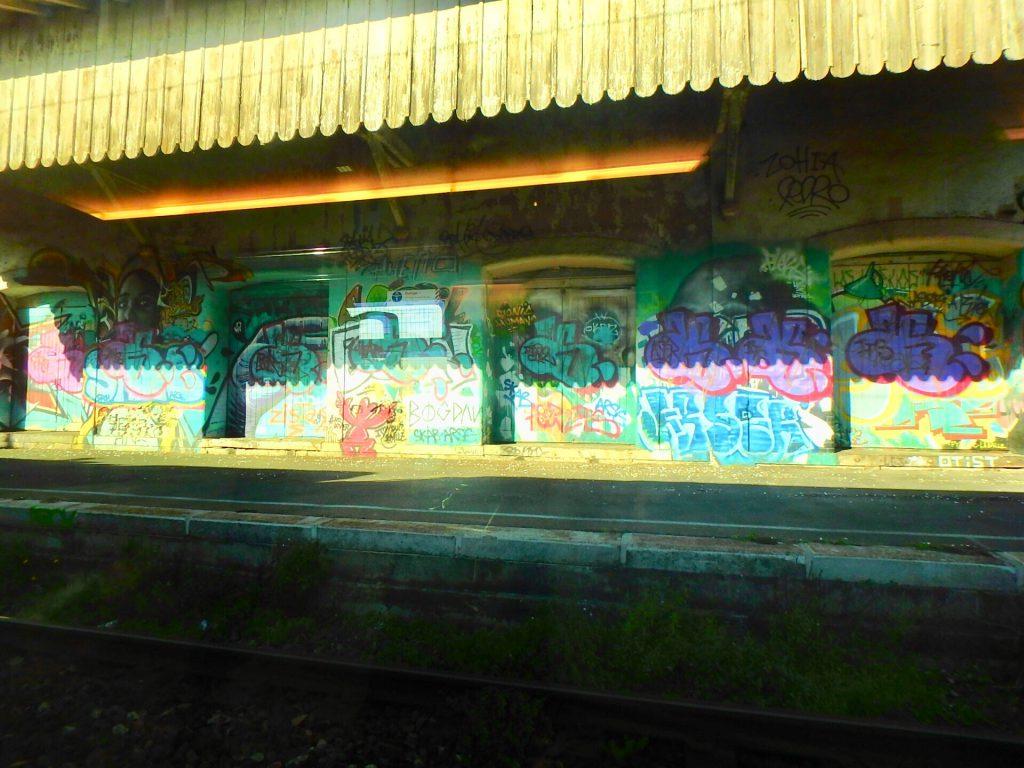 ニースからモナコ 途中駅