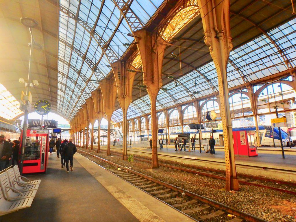 ニース 駅 Gare de Nice-Ville