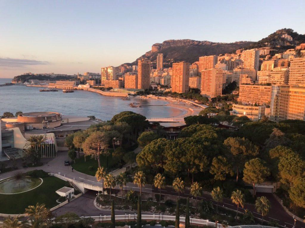 モナコ サンセット 夕日