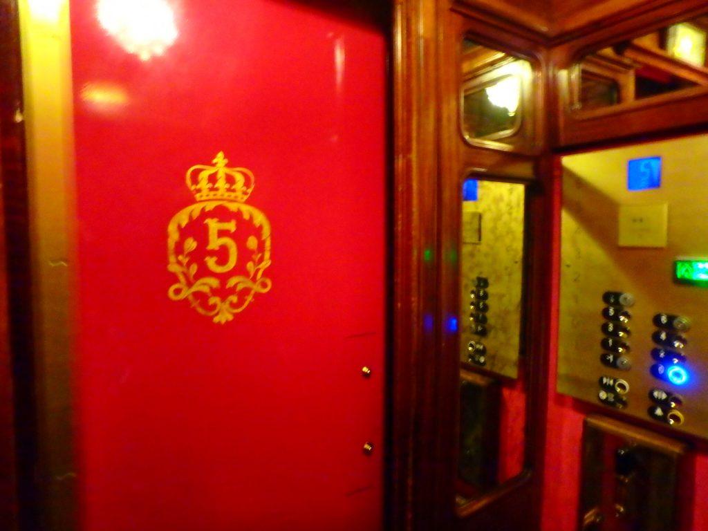 フランス エレベーター レトロ