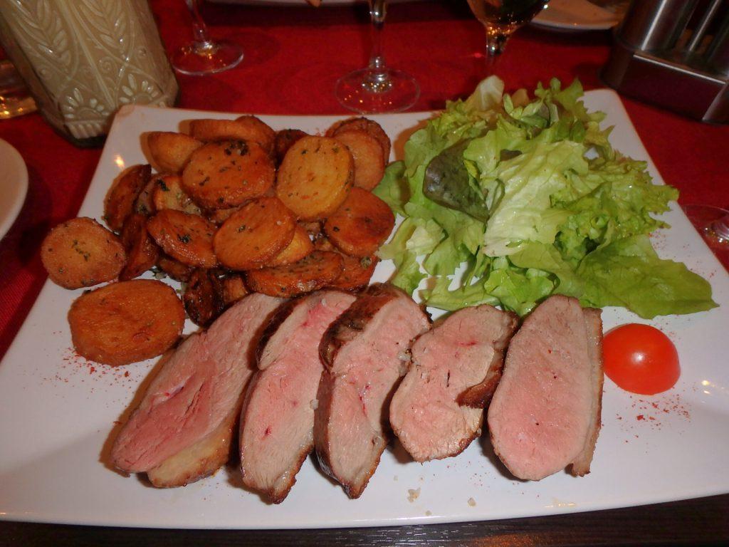 パリ 鴨  ロースト 美味しい