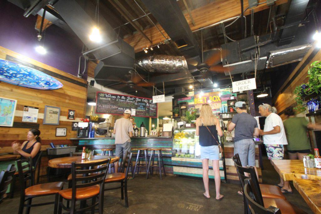 ハワイ ノースショア アサイーボウル The Beet Box Cafe