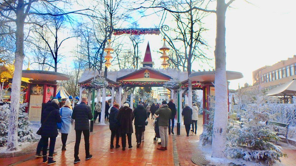 チボリ公園 冬