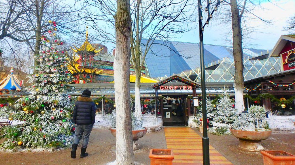 世界最古のレストラン チボリ公園 コペンハーゲン