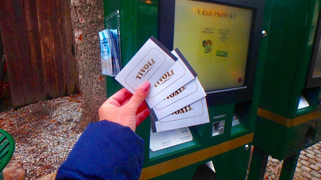 チボリ公園 アトラクション チケット
