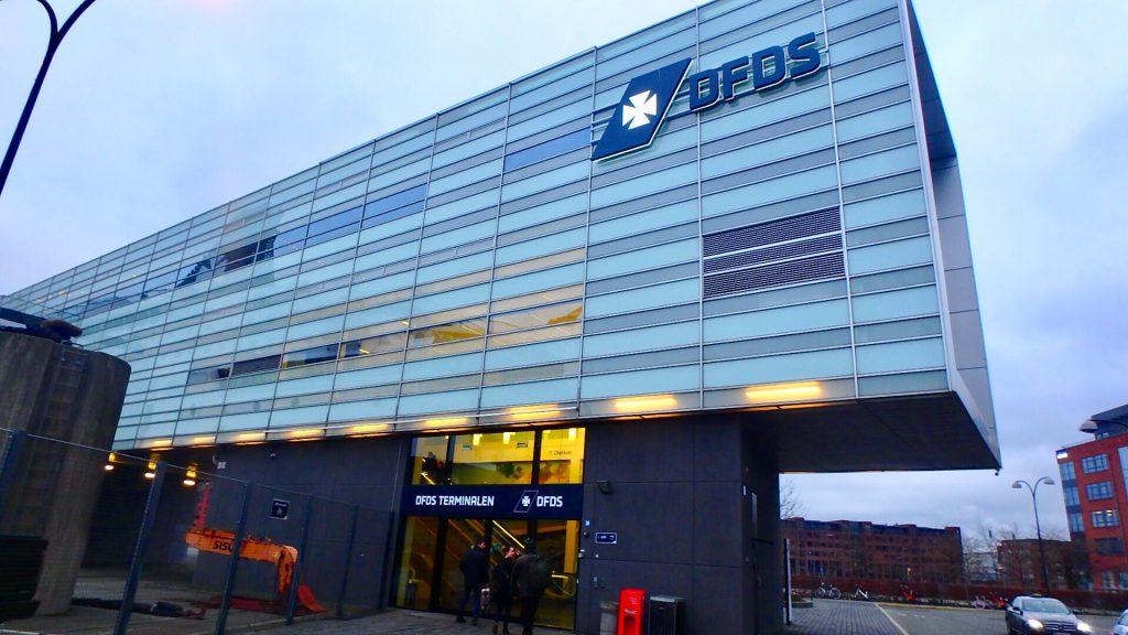 コペンハーゲン DFDS ターミナル