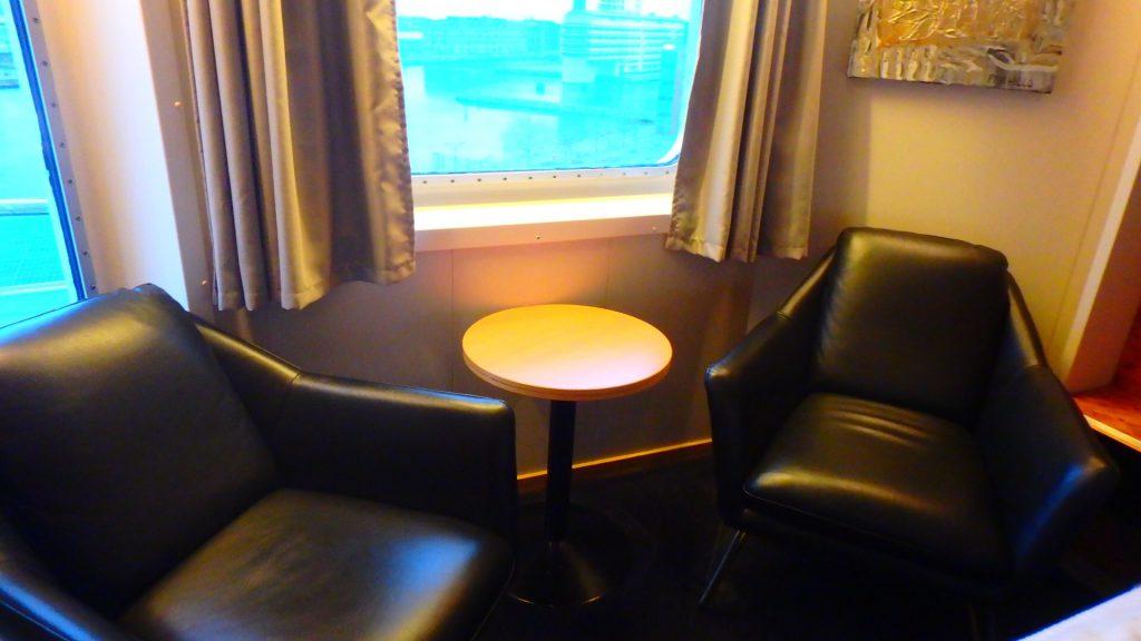 DFDSシーウェイズ 海側 客室 窓あり