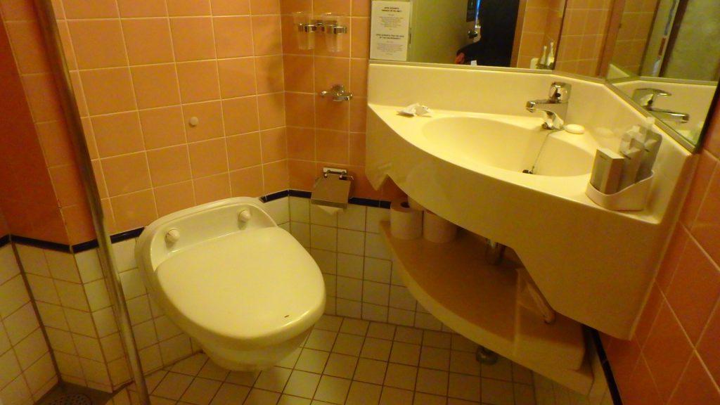 DFDS シーウェイズ 客室 トイレ