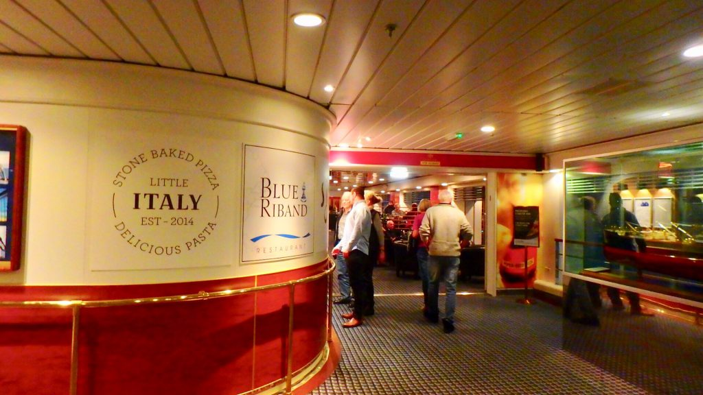 DFDS イタリアンレストラン