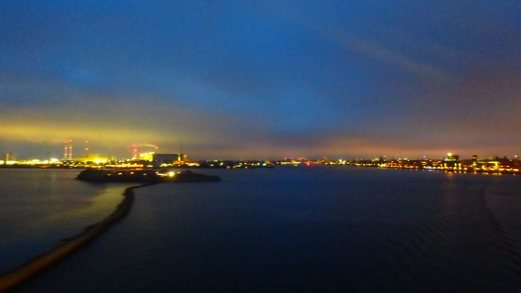 コペンハーゲン港 DFDS